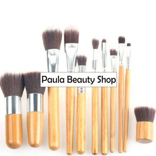 Kit 11 Pincéis Rép. Makeup For You + Bolsa - Sob Encomenda - Loja de ... 3cbd9416a86